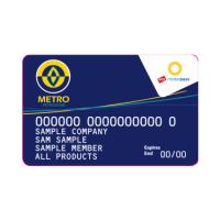 Metro Fuel Card Icon
